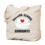 Nursing School Graduate Tote Bag