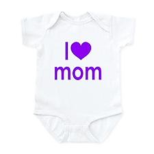 I Love Mom: Infant Bodysuit