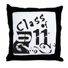 Class of 2011 Throw Pillow