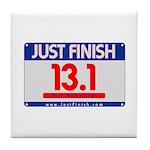 13.1 - Just FINISH bib Tile Coaster