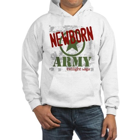 Newborn Army Twilight Hooded Sweatshirt