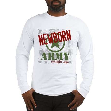 Newborn Army Twilight Long Sleeve T-Shirt