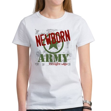 Newborn Army Twilight Women's T-Shirt
