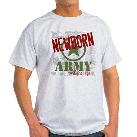 Newborn Army Twilight Light T-Shirt