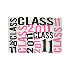 Class 2011 Rectangle Magnet (100 pack)