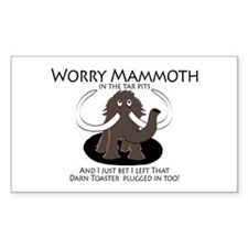 Worry Mammoth Decal