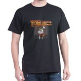 Space Vacations Brown T-Shirt