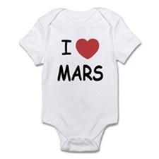 I heart mars Infant Bodysuit