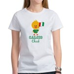 Italian Soccer Calcio Chick Women's T-Shirt