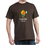 Italian Soccer Calcio Chick Dark T-Shirt