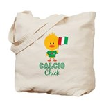Italian Soccer Calcio Chick Tote Bag