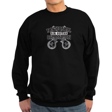 national air guitar champion Sweatshirt (dark)