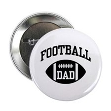 "Football Dad 2.25"" Button"