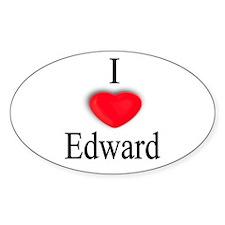 Edward Oval Decal