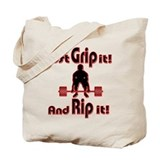 Funny Powerlifting Tote Bag