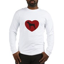 Mini Pincher Heart Long Sleeve T-Shirt