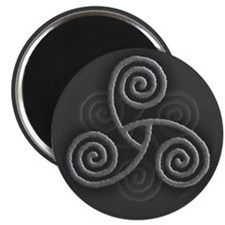 "Celtic Triple Spiral 2.25"" Magnet (100 pack)"