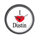 Dustin Wall Clock
