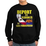 Deport them to San Francisco Sweatshirt (dark)