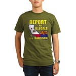 Deport them to San Francisco Organic Men's T-Shirt