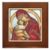 Lovingkindness Religious Art Framed Tile