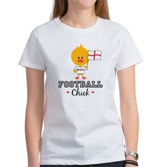 English Soccer Football Chick Women's T-Shirt
