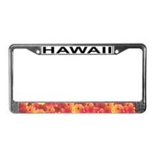 HI License Plate Frame