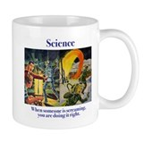 Science and Screaming Small Mug