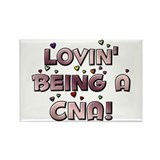 Loving Being A CNA Lovin' hea Rectangle Magnet (10