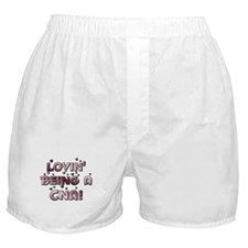 Loving Being A CNA Lovin' hea Boxer Shorts