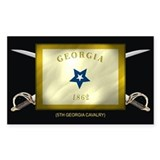 5th Georgia Cavalry Decal