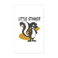 Little Stinker Rectangle Decal