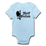 Half Polish Infant Bodysuit