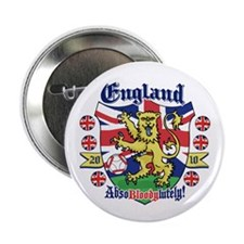 "England Football Lion 2.25"" Button"