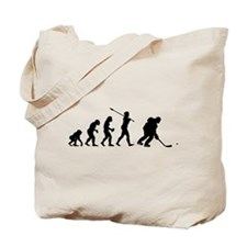 Ice Hockey Player Tote Bag