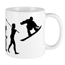 Snowboarder Small Mugs