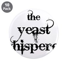 "Yeast Whisperer 3.5"" Button (10 pack)"