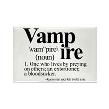 Definition of a Vampire Rectangle Magnet