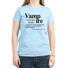 Definition of a Vampire Women's Light T-Shirt