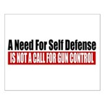 A Need for Self Defense Small Poster