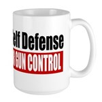 A Need for Self Defense Large Mug