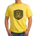 Kalamazoo Police Yellow T-Shirt