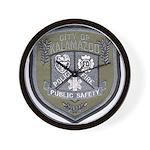 Kalamazoo Police Wall Clock