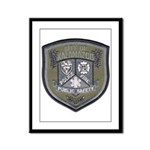 Kalamazoo Police Framed Panel Print