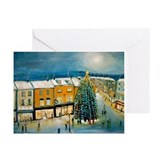 Christmas on Broad Street Greeting Cards (Pk of 20