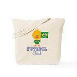 Brazil Soccer Futebol Chick Tote Bag