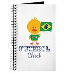 Brazil Soccer Futebol Chick Journal