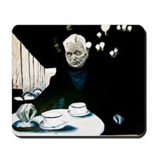 Beckett in Paris Cafe Mousepad