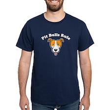 Cute Pit bulls rule T-Shirt
