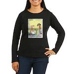 Health Nut Women's Long Sleeve Dark T-Shirt